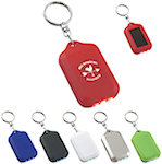 Solar Flashlight Keychains